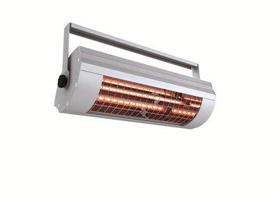 Solamagic 2000 zonder schakelaar Titanium terrasverwarming